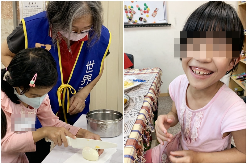 世界和平會課後照顧班孩子的回饋