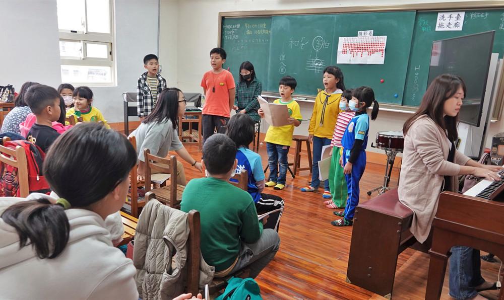 世界和平會「偏鄉圓夢服務」愛唱歌的孩子